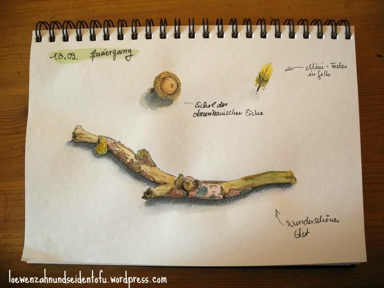 Skizze Natur Inspiration