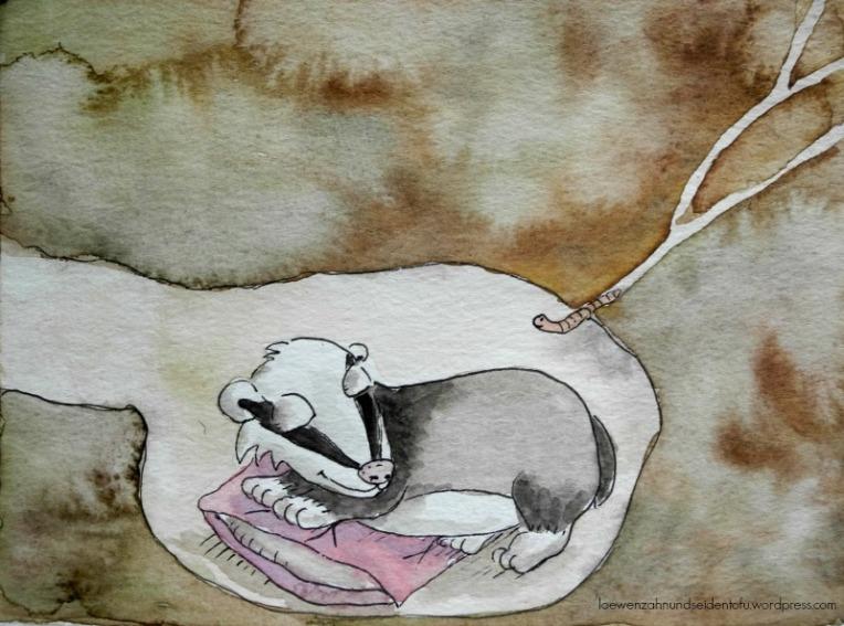 A badgers dream, Dachsträume
