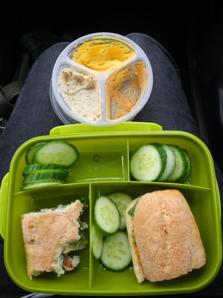 vegan auf reisen, Hummus