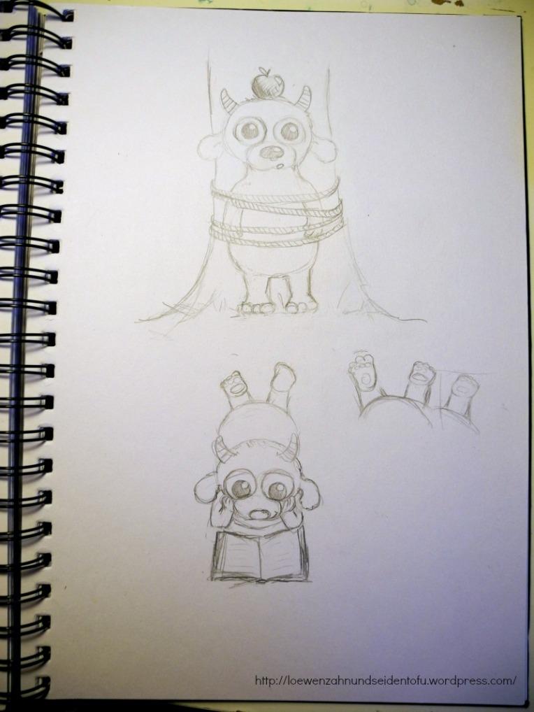 Aus meinem Skizzenbuch - Monster!