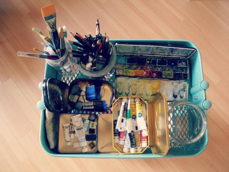Malwagen - Ordnung im Künstler-Chaos